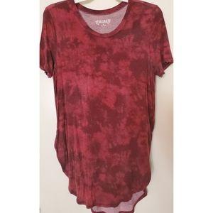 Tie-dye Tunic Shirt